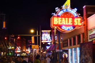 Beale Street in Memphis, Tennessee - Credit: Tennessee Touri