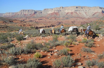 AZ/Grand Canyon Ranch & Outfitters/Ausritt Landschaft