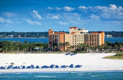 FL/Clearwater Beach/Sheraton Sand Key Resort/Außenansicht
