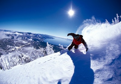 CA/North Lake Tahoe/Snowboarden 3
