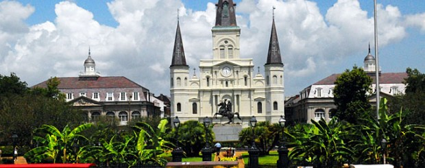 St. Louis Cathedral in New Orleans, Louisiana -Credit: New Orleans Convention and Visitors Bureau