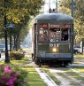 Streetcar im Garden District, New Orleans, Louisiana - Credit: New Orleans CVB