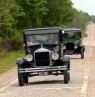 Model T's auf der Route 66, Oklahoma - Credit: Oklahoma Tourism & Recreation Department
