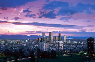 CO/Denver/Allg Bilder/Skyline Sunset 1