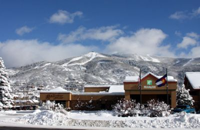 CO/Steamboat/Holiday Inn Steamboat Springs/Aussenansicht-Winter-340