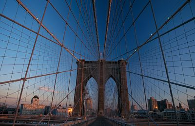 NY/New York City/Brooklyn Bridge 680