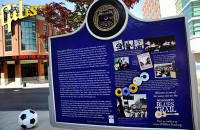 TN/Allg Bilder/Memphis/Blues Trail Marker