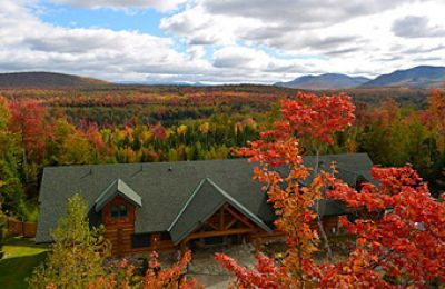 NH/White Mountains/Bethlehem/Bear Mountain Lodge/Aussen