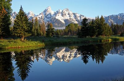 WY/Grand Teton National Park/Landschaft