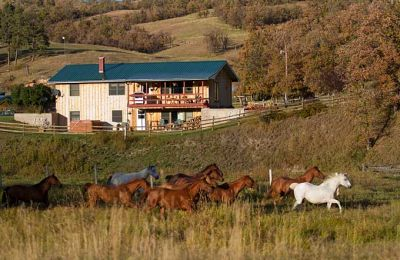 WY/Diamond Seven Bar Ranch/The Ranch house
