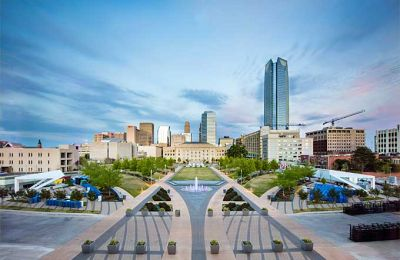 OK/Oklahoma City/Civic Center Skyline
