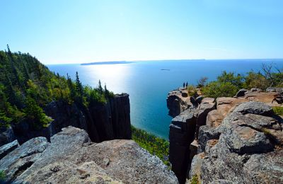 ON/Sleeping Giant Provincial Park/Aussicht