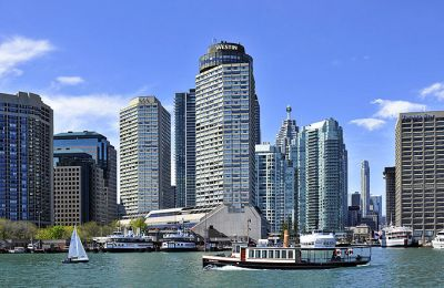 ON/Toronto/Westin Harbour Castle Hotel/Aussen