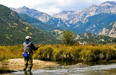 CO/Rocky Mountain National Park/Fly fishing