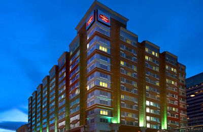 CO/Denver/Residence Inn Denver City Center/Aussen