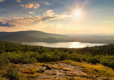 ME/Allg Bilder/AcadiaN.P./View from Cadillac Mountain