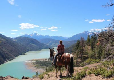 BC/Chilcotin Holidays/Groß/Mountain View