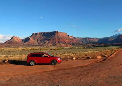 UT/Moab/Scenic Byway Car