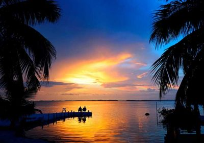 FL/Islamorada/Bay Harbor Sunset