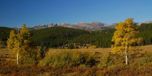 WY/Paradise Guest Ranch/Landschaft Ranch