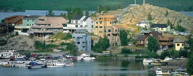 Yellowknife, Old Town - Credit: Northwest- Territories-Tourism