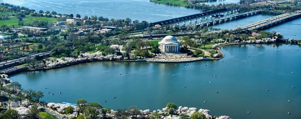 Jefferson Memorial und Tidal Basin, Washington D.C. - Credit: Destination DC