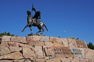 Buffalo Bill Denkmal, Wyoming