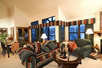 CO/Breckenridge/River Mountain Lodge/Wohnzimmer