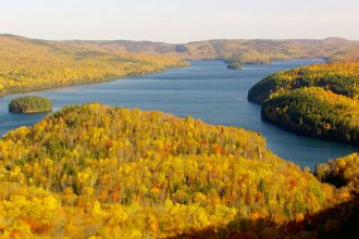 QC/La Mauricie NP/Autumn Leaves