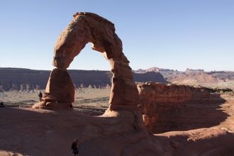 UT/Moab/Arches NP/Lonely Arch 680