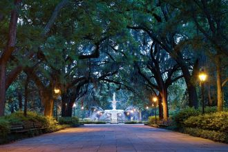 Forsyth Park, Savannah, Georgia - Credit: Georgia Department