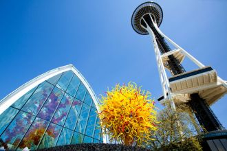 WA/Seattle/Space Needle & Chihuly Garden