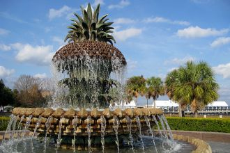 SC/Charleston/Pineapple Fountain Waterfront Park