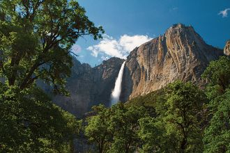 CA/Yosemite National Park/Wasserfall