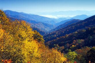 NC/Great Smoky Mountains/Newfound Gap