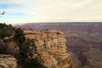 AZ/Grand Canyon/South Rim/Landschaft 2