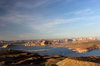 AZ/Lake Powell/See