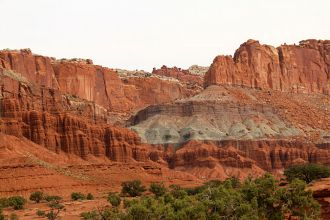UT/Capitol Reef National Park/Berge