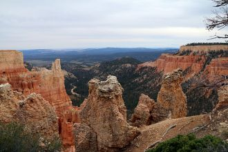 UT/Bryce Canyon National Park/Landschaft 2