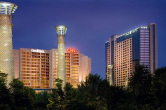 GA/Atlanta/Omni Hotel at CNN Center/Aussen