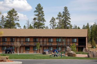 UT/Bryce Canyon/Bryce View Lodge/Aussen