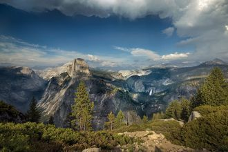CA/Yosemite National Park/Berge