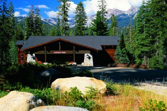 CA/Sequoia National Park/Wuksachi Lodge/Aussen