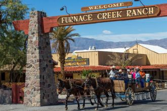 CA/Death Valley/The Ranch at Furnace Creek/Ranch Entry