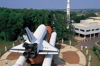 AL/Huntsville/U.S.Space & Rocket Center/Aerial