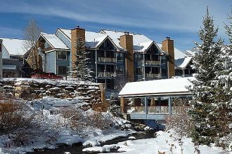CO/Breckenridge/River Mountain Lodge/Aussenansicht