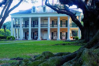 LA/Vacherie/Oak Alley Plantation/aussen 2