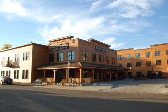 ND/Medora/Rough Riders Hotel/Aussen