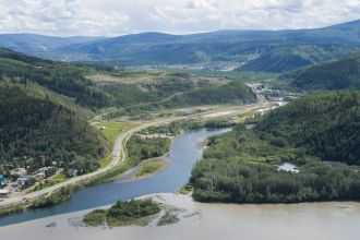 YT/Dawson City/Panorama