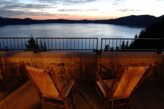 OR/Crater Lake National Park/Crater Lake Lodge/View